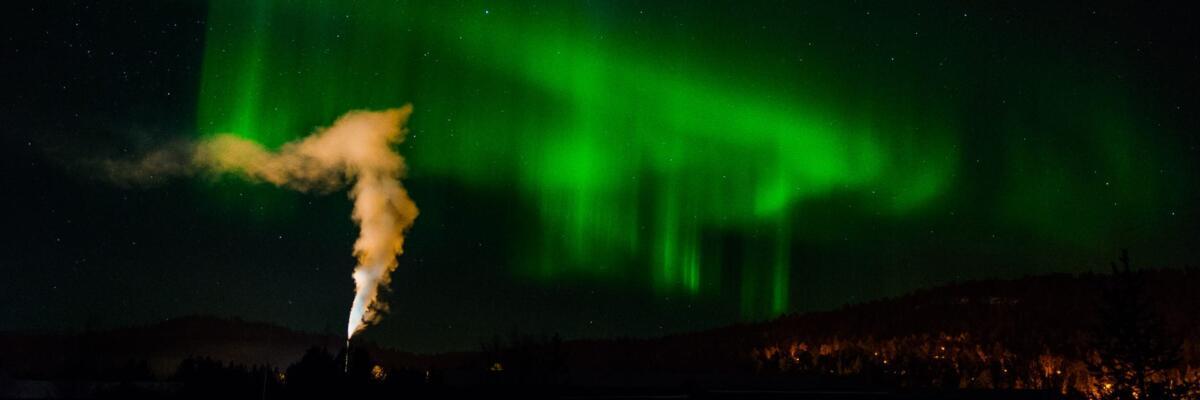 Aurora Borealis over Karasjok