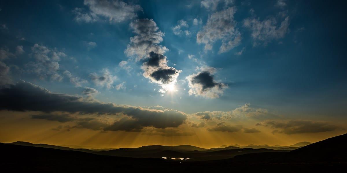 Rondane sunset