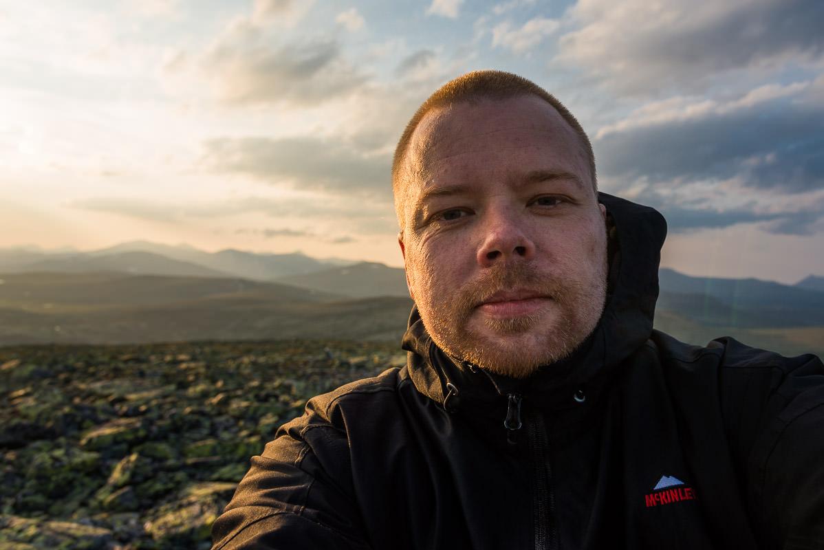 Selfie Tor Ivan Boine