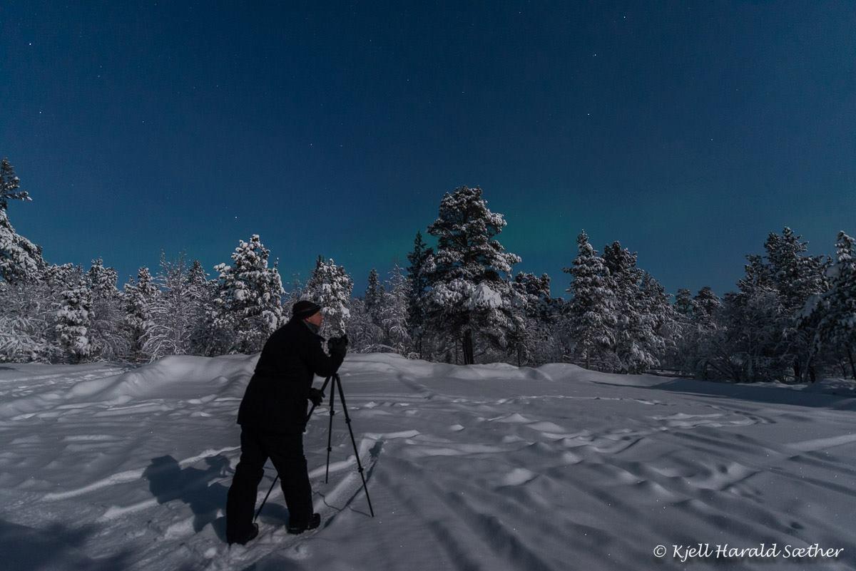 Nordlys Tor Ivan Boine Foto Kjell H Saether
