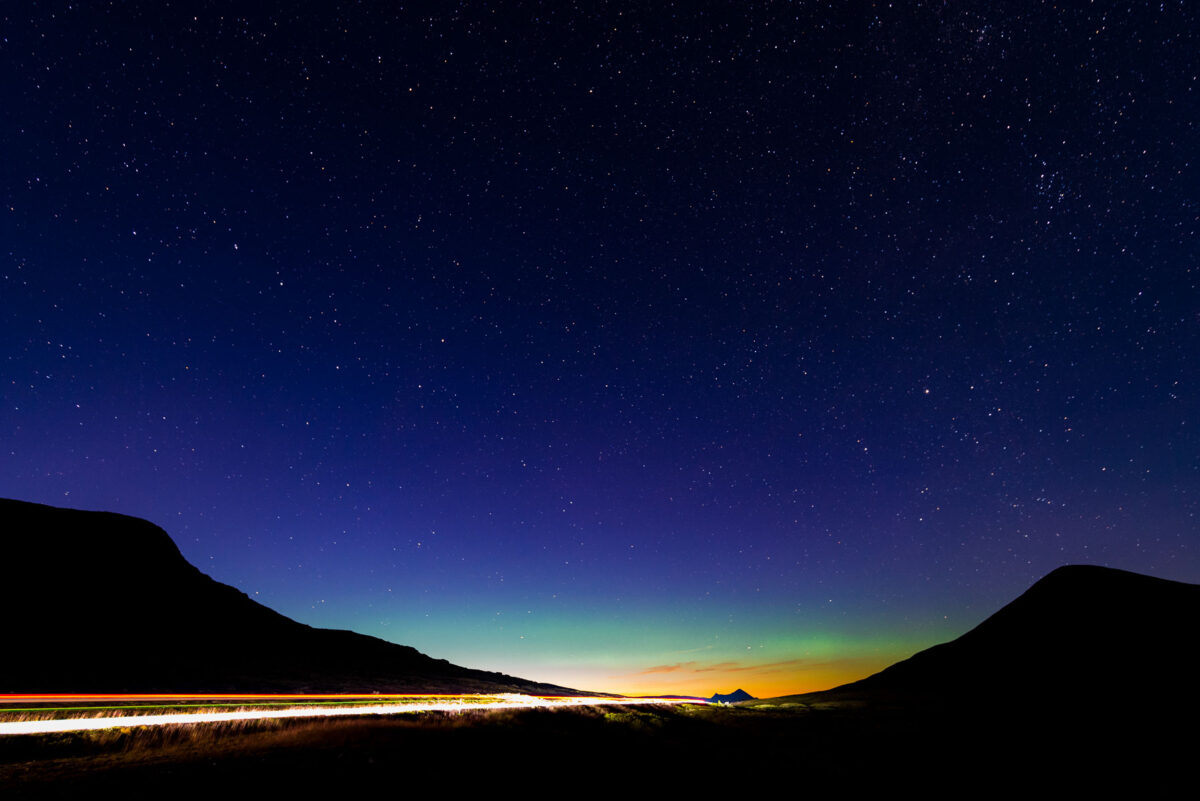 Aurora Borealis over Muen