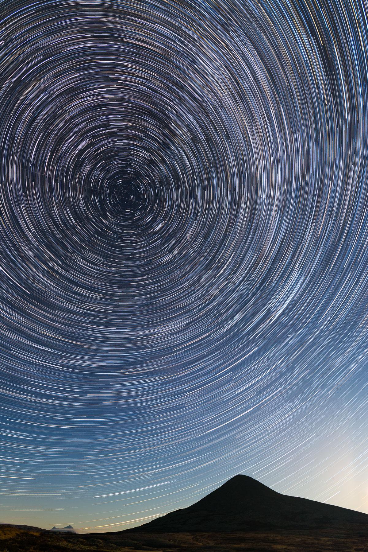 Muen Milkyway star trail