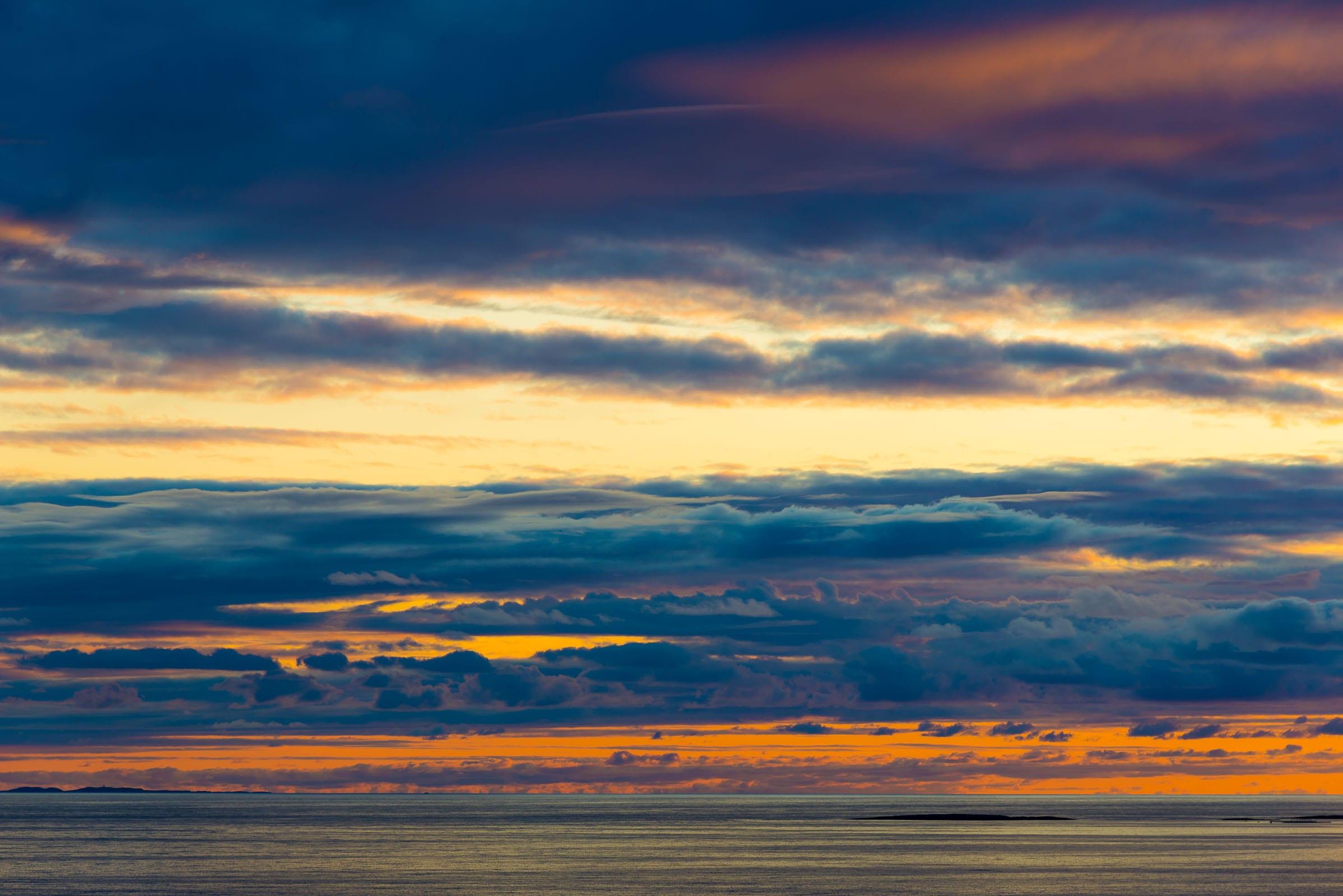 Leka sunset