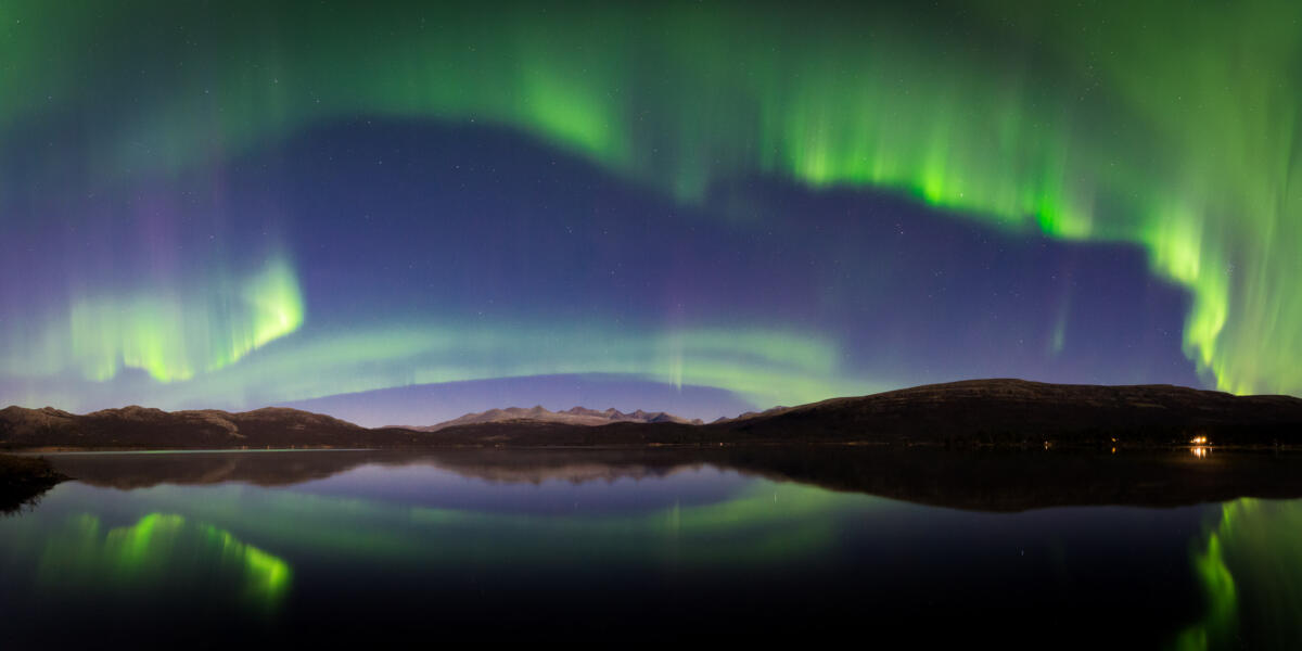 Aurora Borealis over Rondane National Park
