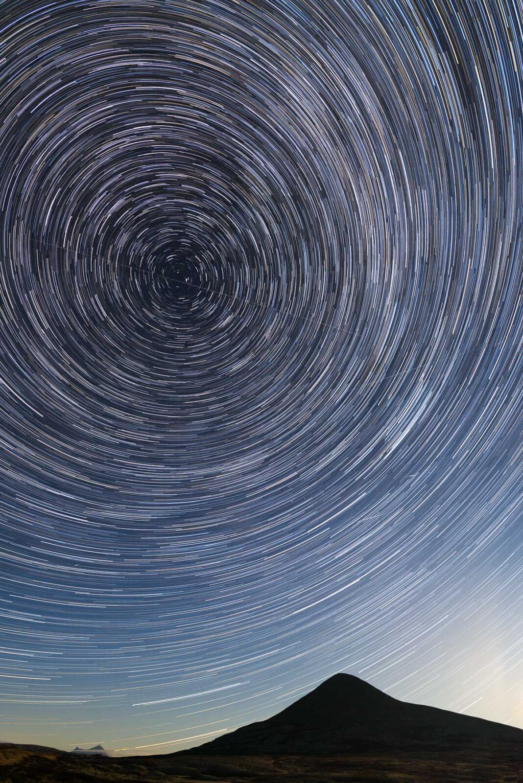 Muen Milkyway star trail